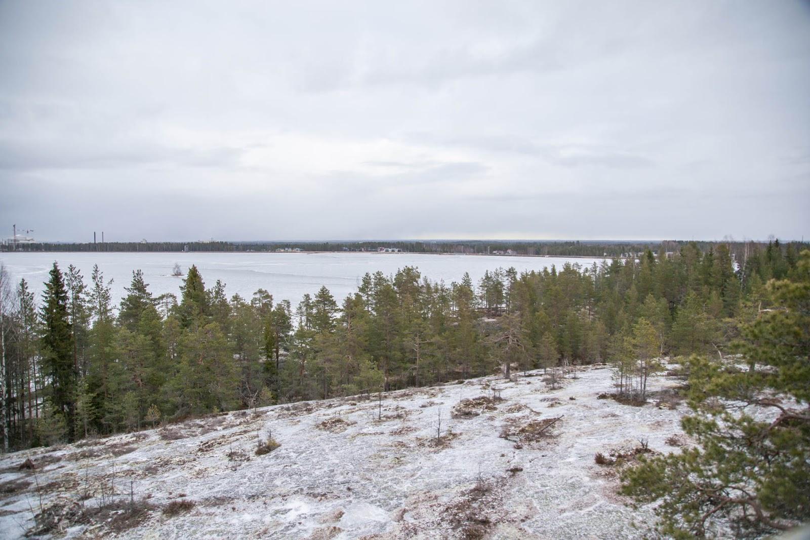 näkötorni luontopolku kyrkösjärvi maisema