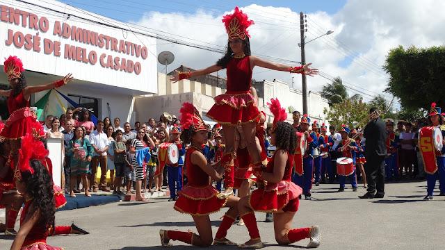 Olho D'Água do Casado celebra os 197 anos da Independência do Brasil, confira imagens e vídeos