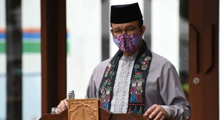 Anies Baswedan was positive for Covid-19