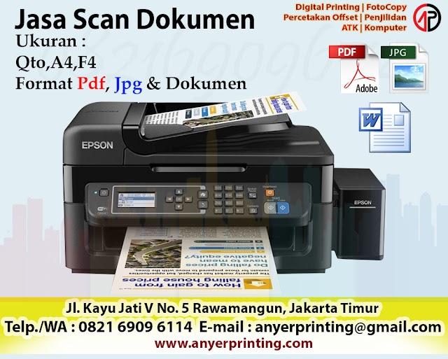 Jasa Scan Dokumen Murah dan Express