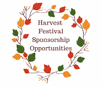 Reminder: Harvest Festival Sponsorship Opportunities end Aug 28