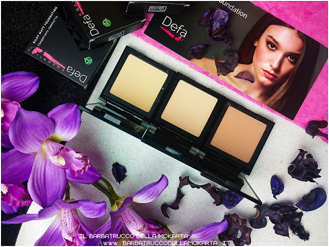 swatches review Silky Matt Foundations Defa Cosmetics Fondotinta vegan