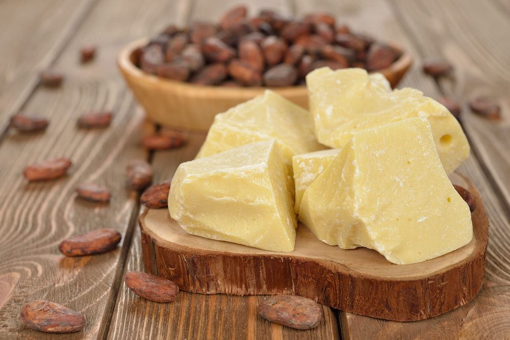 Using cocoa butter on a daily basis can bring you amazing results such as improvement in skin elasticity which in turn gets rid of your double chin.