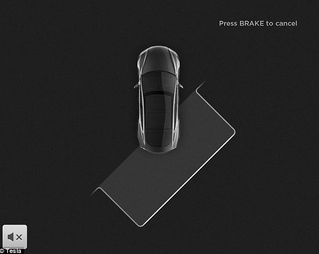 Tesla Model S - Autopark