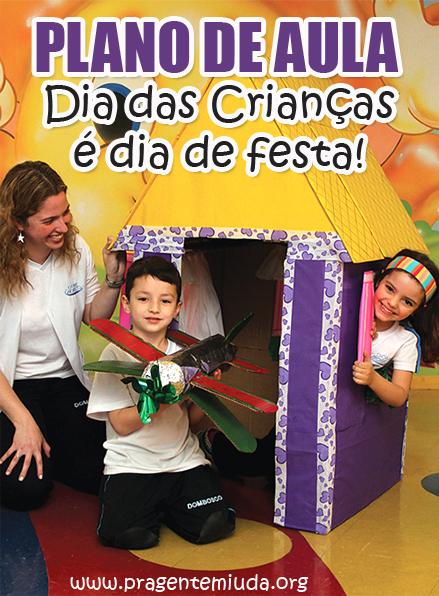 plano de aula para dia das crianças