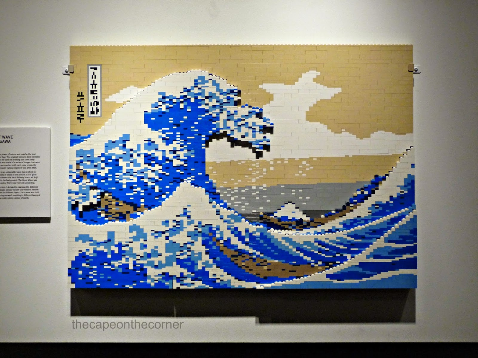lego art the wave