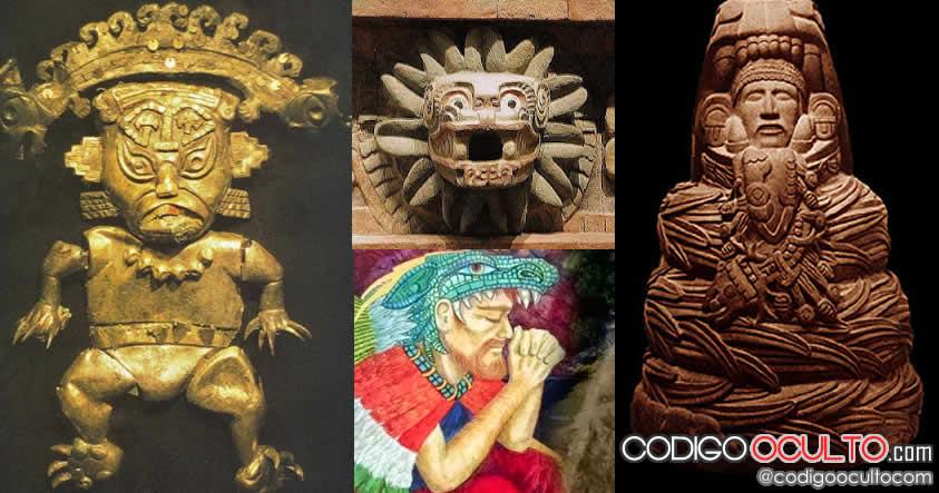 Quetzalcóatl, Kukulkan, los antiguos dioses relacionados estrechamente con el culto a la serpiente