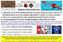 TPNPB - OPM Tunda Siaran Pers Untuk Umumkan Tim Juru Runding dengan indonesia