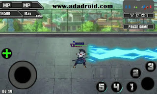 Download Sprite Sasuke New Skill by Ariyanto for Naruto Senki