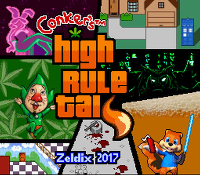 Indie Retro News: Conker's Bad Fur Day