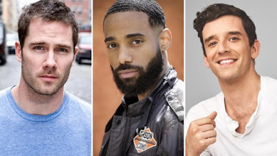Luke MacFarlane, Philemon Chambers and Michael Urie