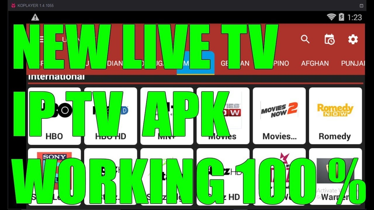 NEW APK OCTOBER 2017 !! THE BEST FREE LIVE TV IPTV APP FOR