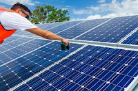 Installing Rooftop Solar Panels (Image credit: depositphotos.com / ©2017 Bloomberg News) Click to Enlarge.