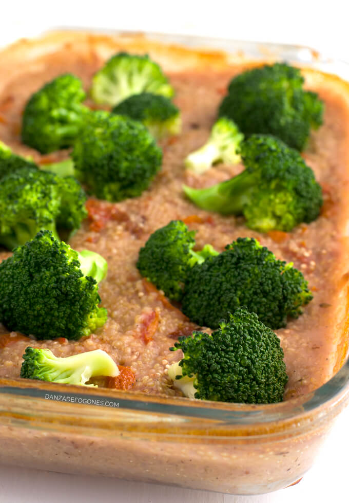 Quinoa recipe with vegetables - danceofstoves.com