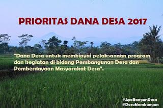 Inilah Prioritas Dana Desa untuk Kegiatan Pemberdayaan