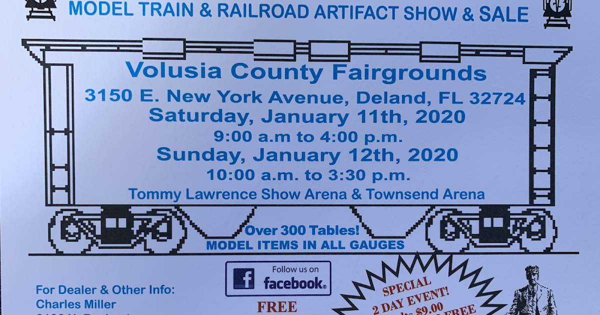 Florida Rail Fair January 2020 Flagler County Family Fun
