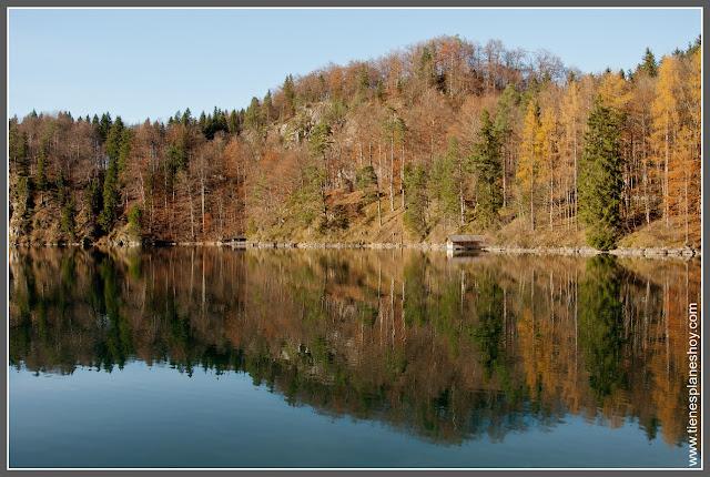 Lago Alpsee Baviera (Alemania)