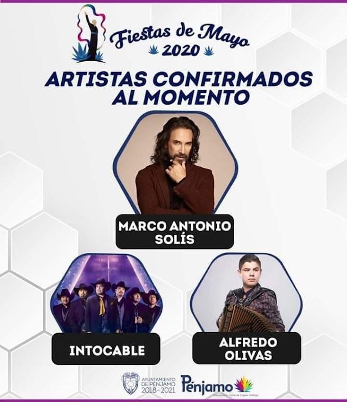 Feria Pénjamo 2020 Fiestas de Mayo