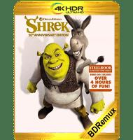 SHREK (2001) BDREMUX 2160P HDR MKV ESPAÑOL LATINO