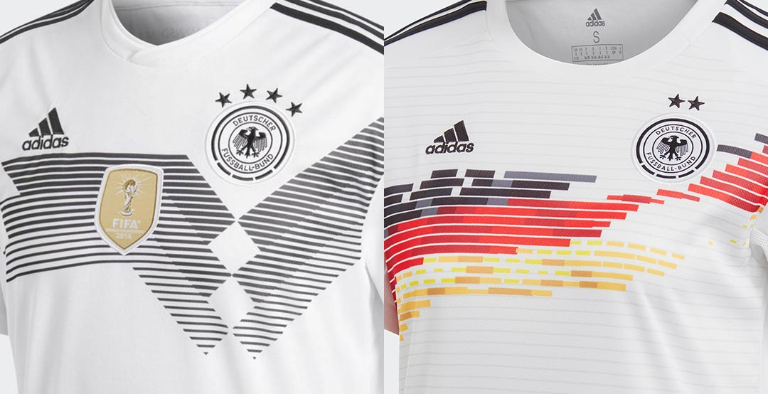 c754b38d41a Which Is Better  Adidas Germany 2018 Men s vs 2019 Women s World Cup ...