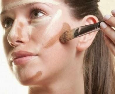Como afinar as bochecas com maquiagem passo a passo