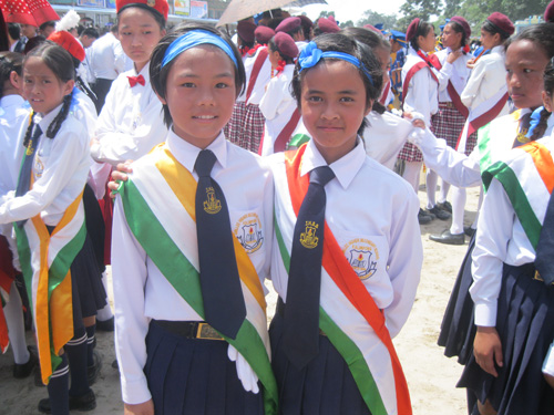 Independence Day celebrations 2018 in Kalimpong