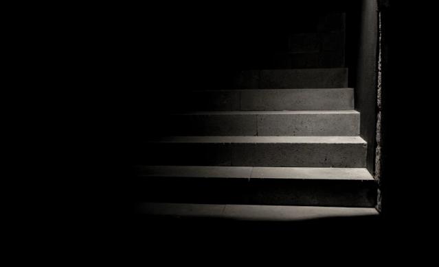 Steps in darkness
