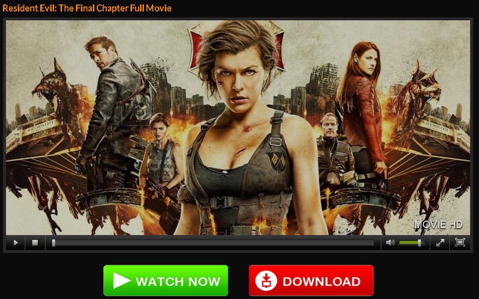 Resident Evil 6 Stream Hd Filme
