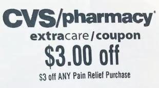 cvs pain reliever crt coupon
