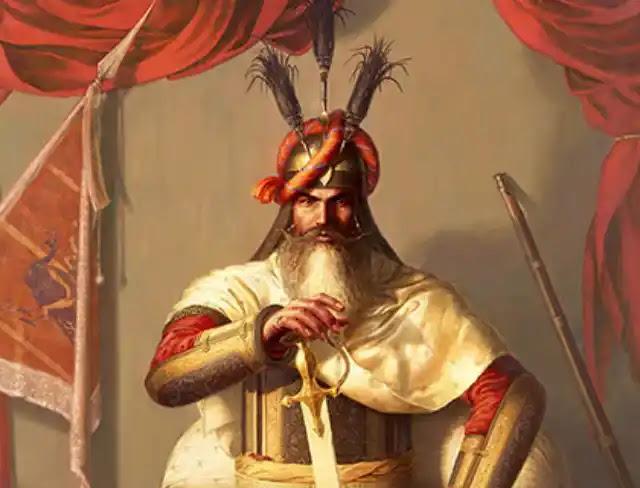 हरि सिंह नलवा का चित्र - Hari Singh Nalwa Painting