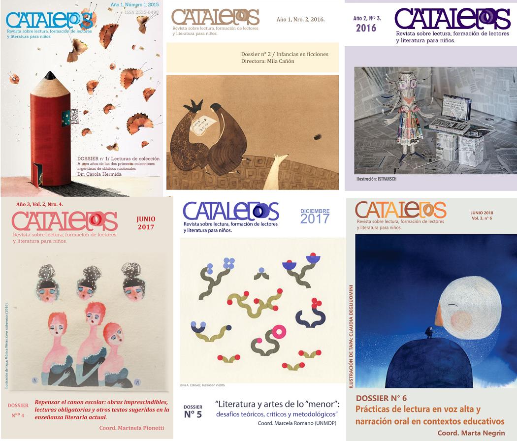 Revista Catalejos de literatura infantil
