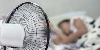 Tidur dengan Kipas Angin Menyala Berbahaya Buat Kesehatan