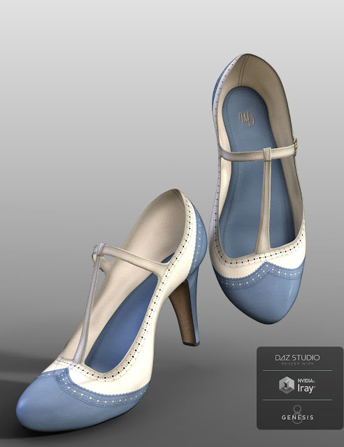 Wingtips for Genesis 8 Female