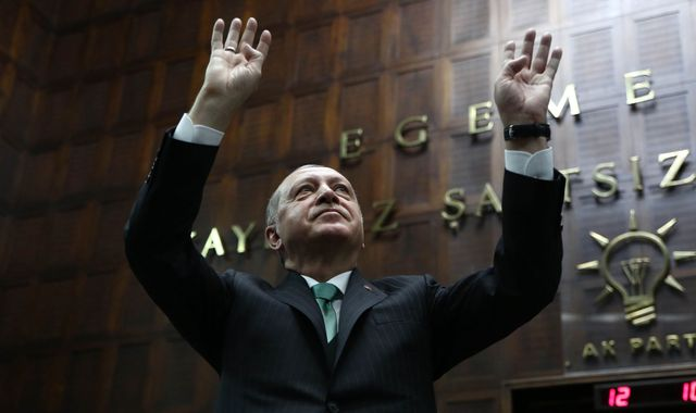 Erdogan to citizens 'we have our God' as lira falls