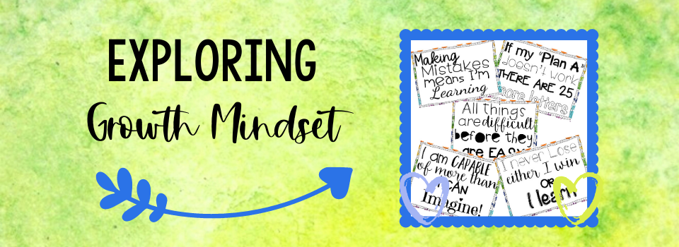 Using a growth mindset  versus a fixed mindset makes a HUGE difference in helping students soar. Check out this post for ideas and resources you can use.
