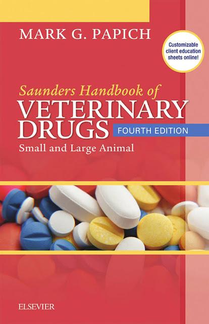 Saunders Handbook of Veterinary Drugs Small and Large Animal, 4e  - WWW.VETBOOKSTORE.COM