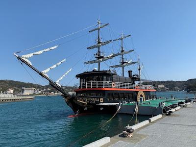 下田港内めぐり 黒船サスケハナ