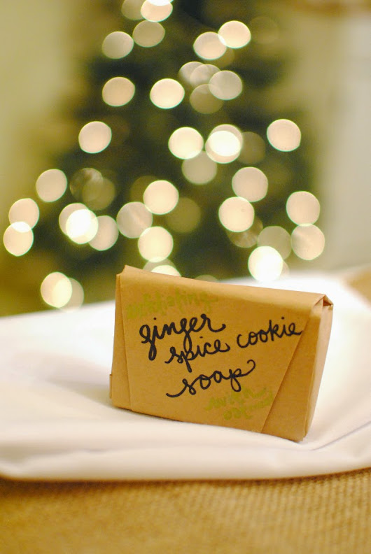 Ginger Spice Cookie Soap