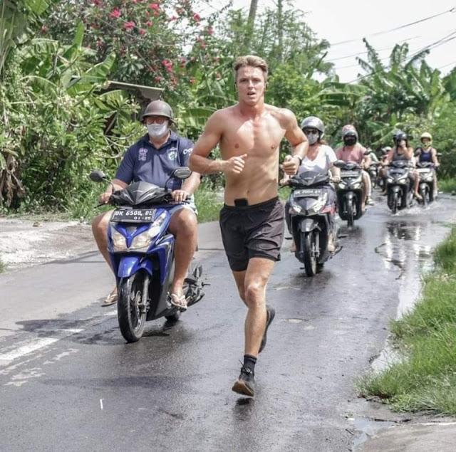 Generous Tourist Will Help The Folks of Bali By Jogging Ultra-marathon