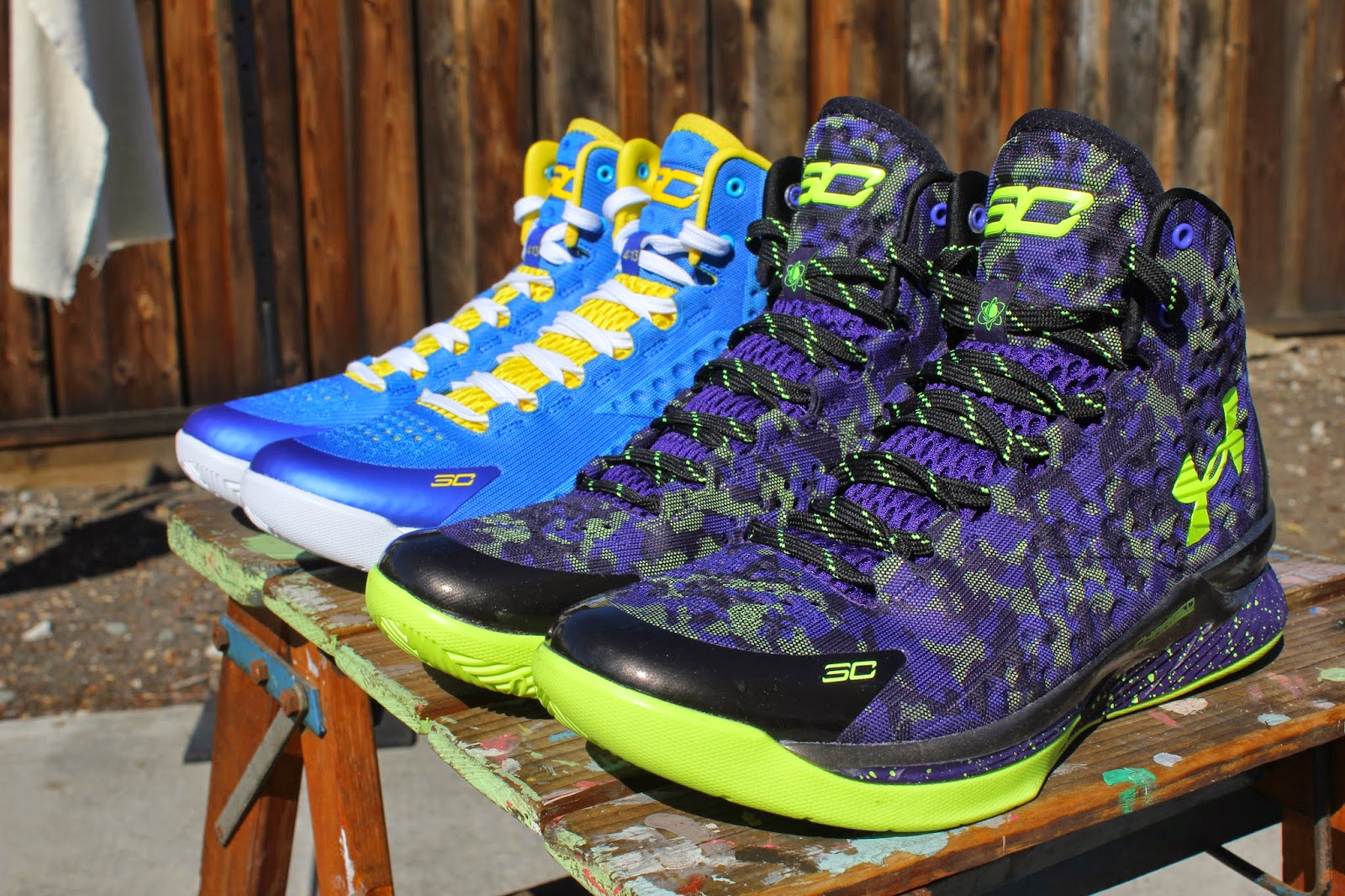 "My Life through Pics & Kicks: Under Armour Curry One ""Home ..."