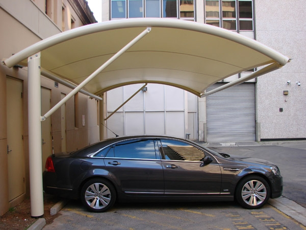Manufacturing The Car Park Sun Shades Swimming Pool