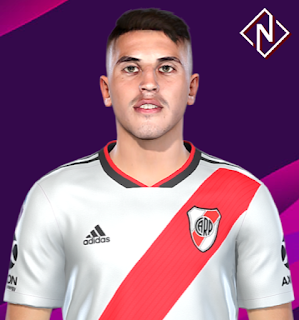 PES 2019 Faces Exequiel Palacios by Nahue
