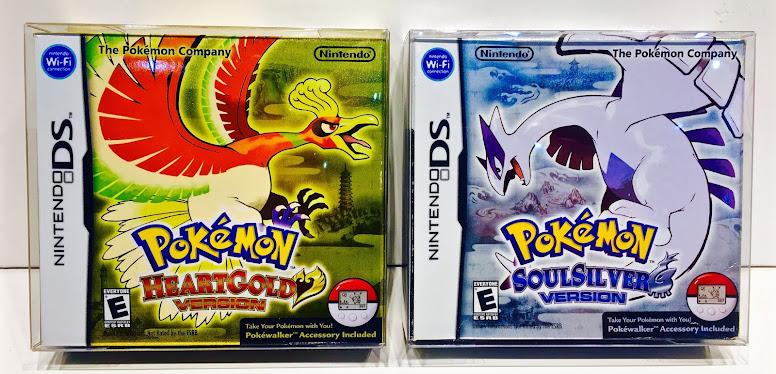 Pokémon HeartGold e SoulSilver Proteção