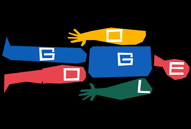 Google. Doodle for Saul Bass' 93rd Birthday. Doctor Ojiplatico