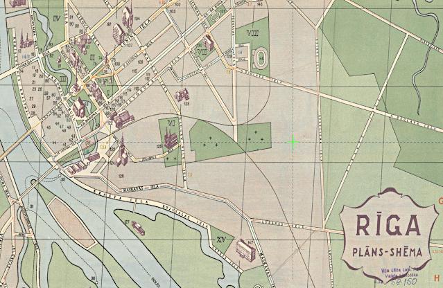 Район плявниеки 1959 год карта