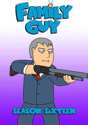 Family Guy (TV Series) S16 DVD R1 NTSC Sub