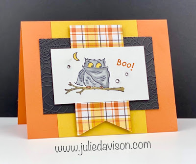 Stampin' Up! Have a Hoot Halloween Card ~ August-December 2020 Mini Catalog ~ www.juliedavison.com #stampinup