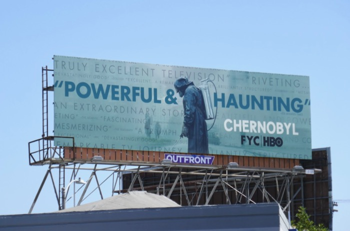 Chernobyl HBO Emmy FYC billboard