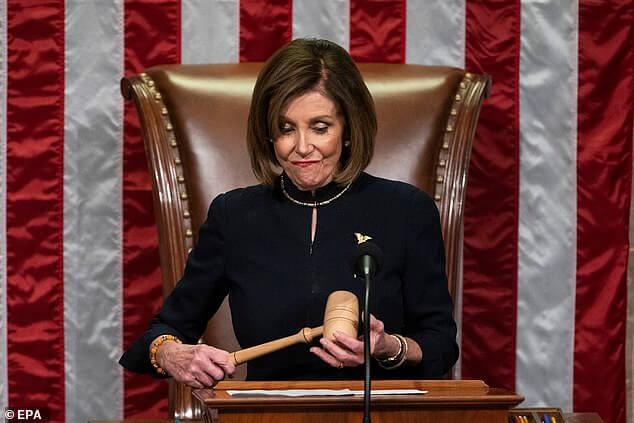 Gabbard tears,Pelosi,postponement,denunciation,articles