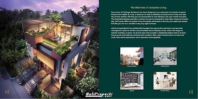 heritage residence harga